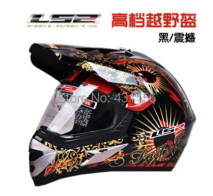 Free shipping 2013 off-road helmet LS2 cross-country motorcycle helmet cross-country motorcycle helmet LS2 MX433 new fund(China (Mainland))
