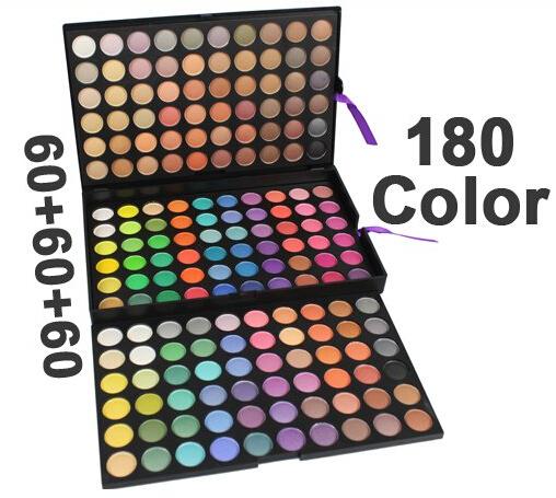 180 color eyeshadow eye shadows professional makeup makes up Kit palette set cosmetics(China (Mainland))