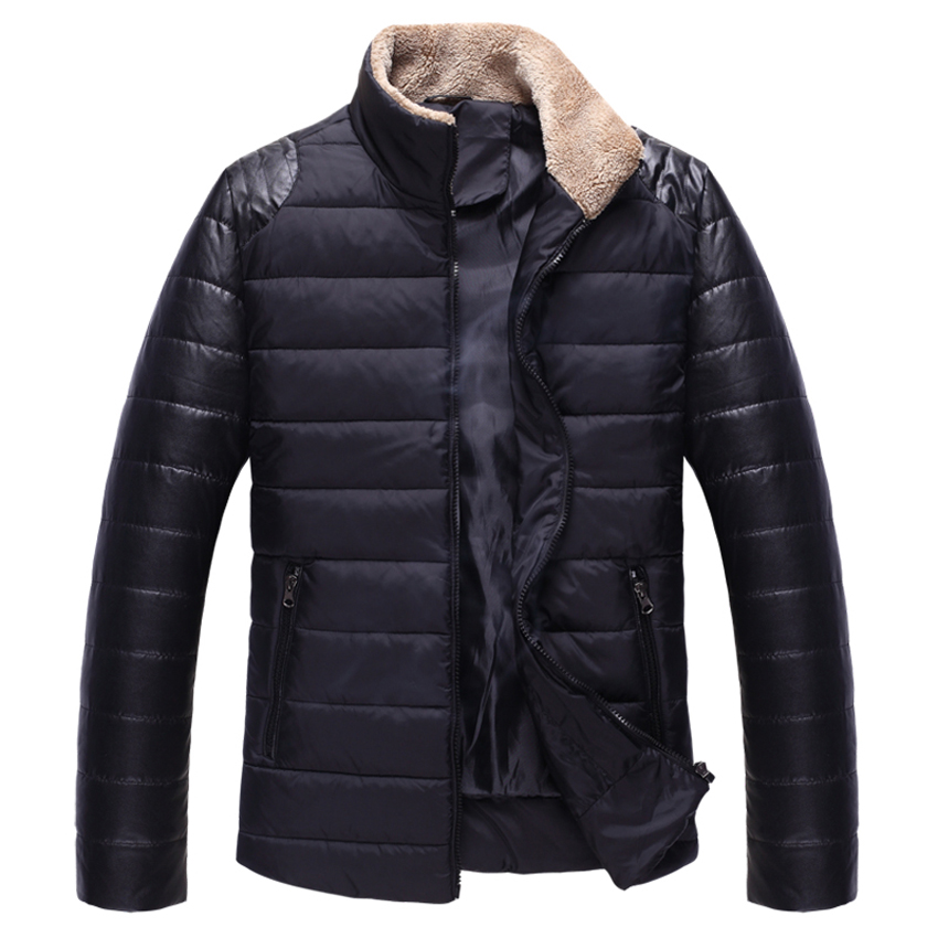 HOT New Casual Men Clothes Winter Jackets and Coats Outdoor Fur Collar Ceket Abrigos y Chaquetas