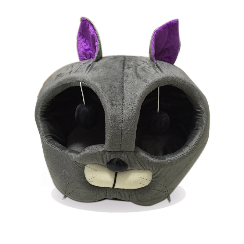 New Cat face Removable Warm Pet Bed cat House bell cat beds small Dogs dog House sleeping bag soft Pet Products free shipping(China (Mainland))