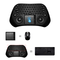 Brand New 2 4G Wireless Gaming Keyboard Gamer Touchpad Mini Game Fly Air Mouse for PC