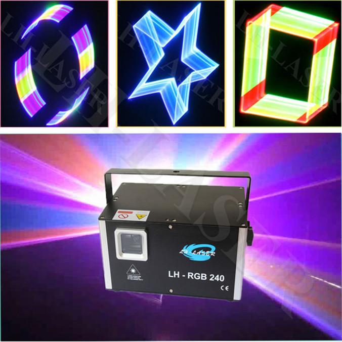 Stunning 2w 3D Laser Light / 2 watt RGB Full color Laser Light / 2w rgb laser light with 2d/3d change for Halloween Christmas(China (Mainland))