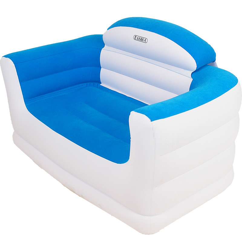 Sofa Double Inflatable Sofa Hot Sale Beanbag Bed Simple Flocking Sofa Single Chair Leisure Chair