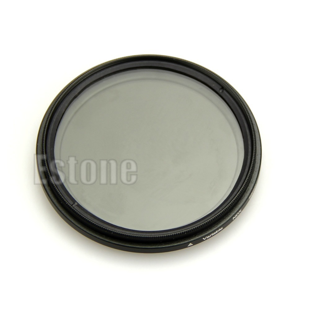 B39 Newest Adjustable Slim Fader Variable ND Filter ND2 to ND400 58mm Neutral Density free shipping(China (Mainland))