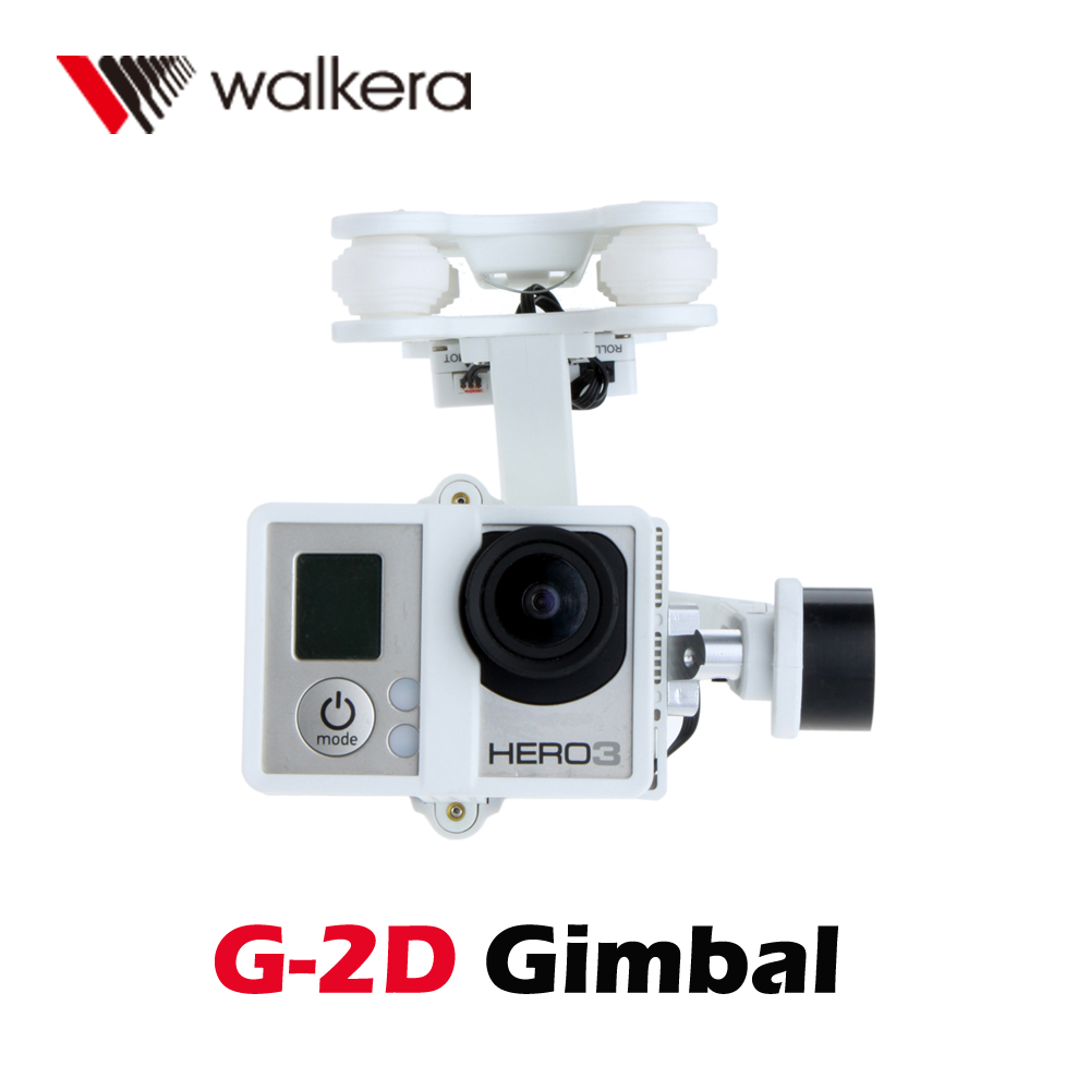walkera white g 2d brushless camera gimbal for ilook gopro hero 3 plastic version camera mount. Black Bedroom Furniture Sets. Home Design Ideas