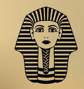 The Egypt Vinyl Wall Decal Countries Tutankhamun Ancient Egypt Pharaoh Mural Art  Wall Sticker  Office Room Home Decoration