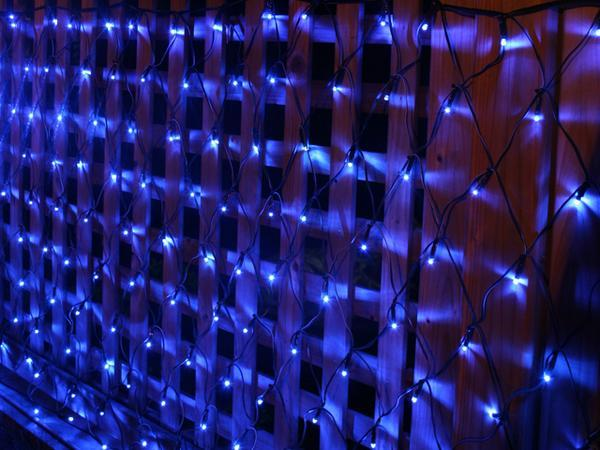 Led decoration reticularis lantern net lights wedding for 160 net christmas decoration lights clear