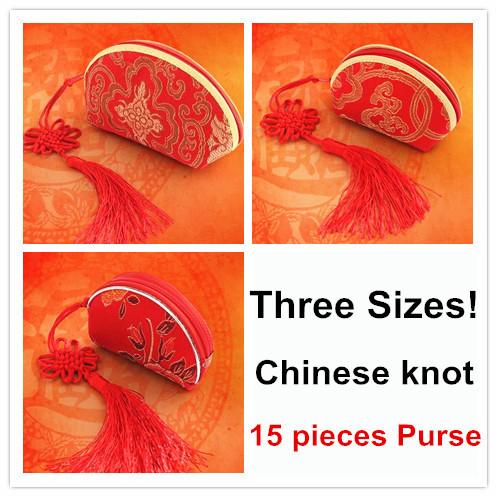 Women Retro Ethnic Embroider Wallets Chinese Knot Coin Purse Burse Wedding Sugar Damask Box Mini Clutch Handbag Free Shipping(China (Mainland))