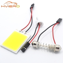 Buy 2Pcs T10 COB 24smd 24 SMD LED Panel Super White Car Auto Interior Reading Map Lamp Bulb Light Dome Festoon BA9S 3 Adapter DC12V for $1.25 in AliExpress store