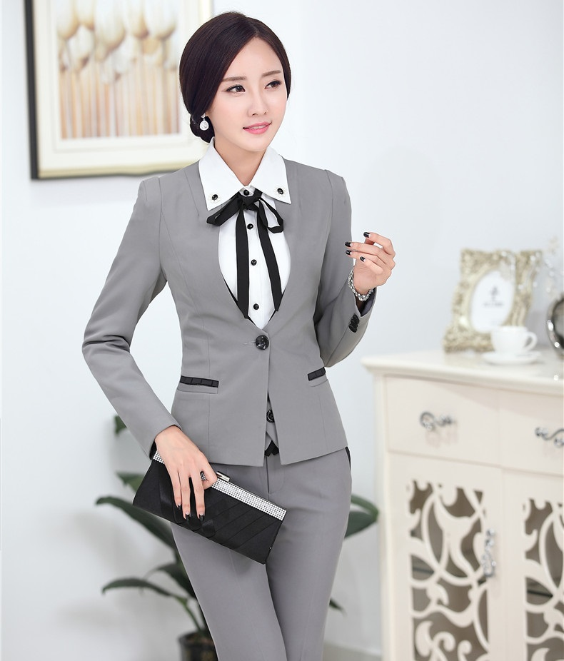 Compare Prices on Grey Womens Suit- Online Shopping/Buy Low Price