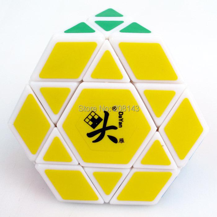 New!! DaYan Gem VIII Dayan 8 Magic Cube Speed Puzzle White - Yantai Tianhu Technology Co, Ltd. store