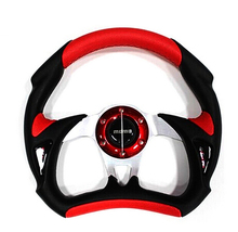 320mm 13inch PU leather  Auto Racing Car Steering Wheel, Car Styling(China (Mainland))