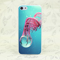 1W 3D Abstract Hard Transparent for iPhone 4 4s 5 5s 5c SE 6 6s Plus