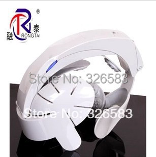 Wholesale - Electric Head Massager Brain Massage Relax Easy Acupuncture Points Gray USB connect and batteries
