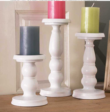iron metal candle holder set pillar candle stand for home holiday decoration ZT003(China (Mainland))