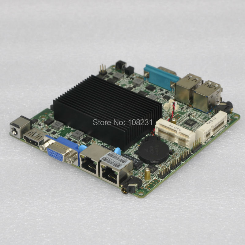 QOTOM Nano ITX Motherboard with celeron j1800 processor onboard, dual core 2.41 GHz, up to 2.58 GHz(China (Mainland))