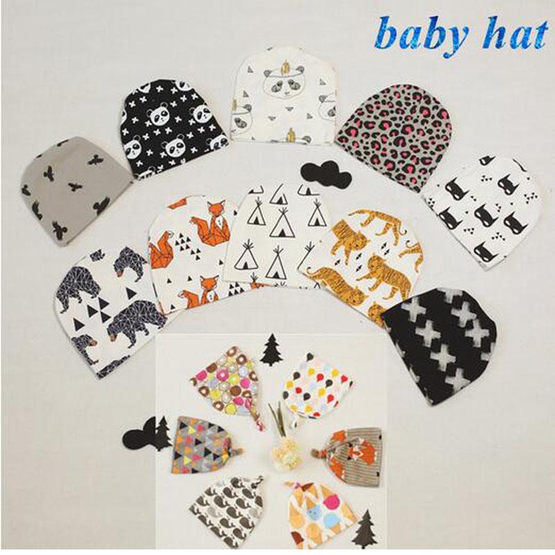 Spring Baby Hats Animal Boys Girls Cap Toddler Hats Boys Girls Fox Panda Hat Cartoon Tiger Cap Kids Animal Pattern Hats(China (Mainland))