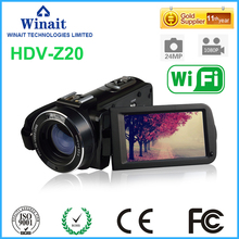 Buy Freeshipping Face DetectionHDV-Z20 Max 24mp 1080P Full HD video camera 16x Optical zoomDIS Anti-Shake digital camera camcoder DV for $105.99 in AliExpress store