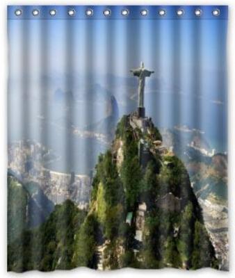 "Custom It Rio de Janeiro Brazil Mildew-Resistant Antibacterial Waterproof Shower Curtain 60"" x 72""(China (Mainland))"