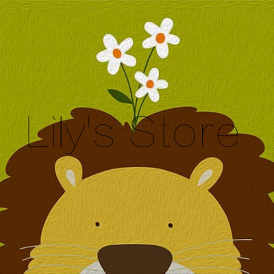 oil painting lion abstract 40 50 paint by number kits Frameless picture DIY new arrival diy digital(China (Mainland))