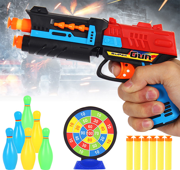 Bullets Target Paintball Gun Pistol Soft Bullet Plastic Toys CS Game Party Shooting Nerf Air Airgun - Any Possible store