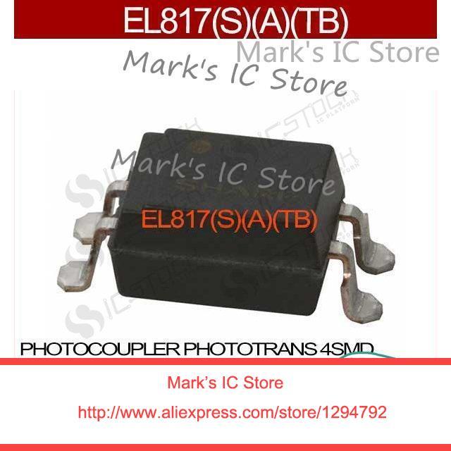EL817, S, A, TB PHOTOCOUPLER PHOTOTRANS 4SMD EL817, A, TB 817 817 (L817 EL817 817, A, TB