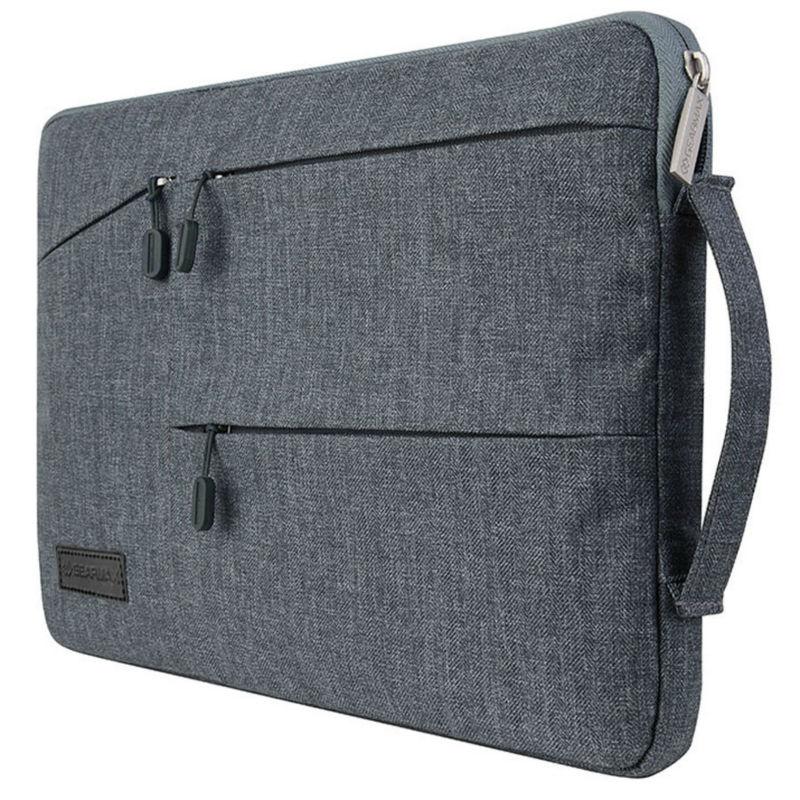 2017 New Pocket Sleeve Bag MacBook Pro 13 Inch Waterproof Laptop Case Lenovo 14+Free Keyboard Cover MacBook 11 13 15
