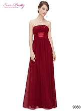 Long Bridesmaid Dress – strapless
