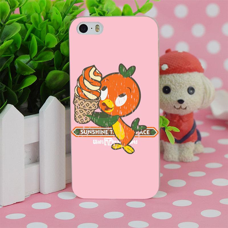 B1282 Florida Orange Bird Transparent Hard Thin Case Cover For Apple iPhone 4 4S 5 5S SE 5C 6 6S 6Plus 6s Plus(China (Mainland))