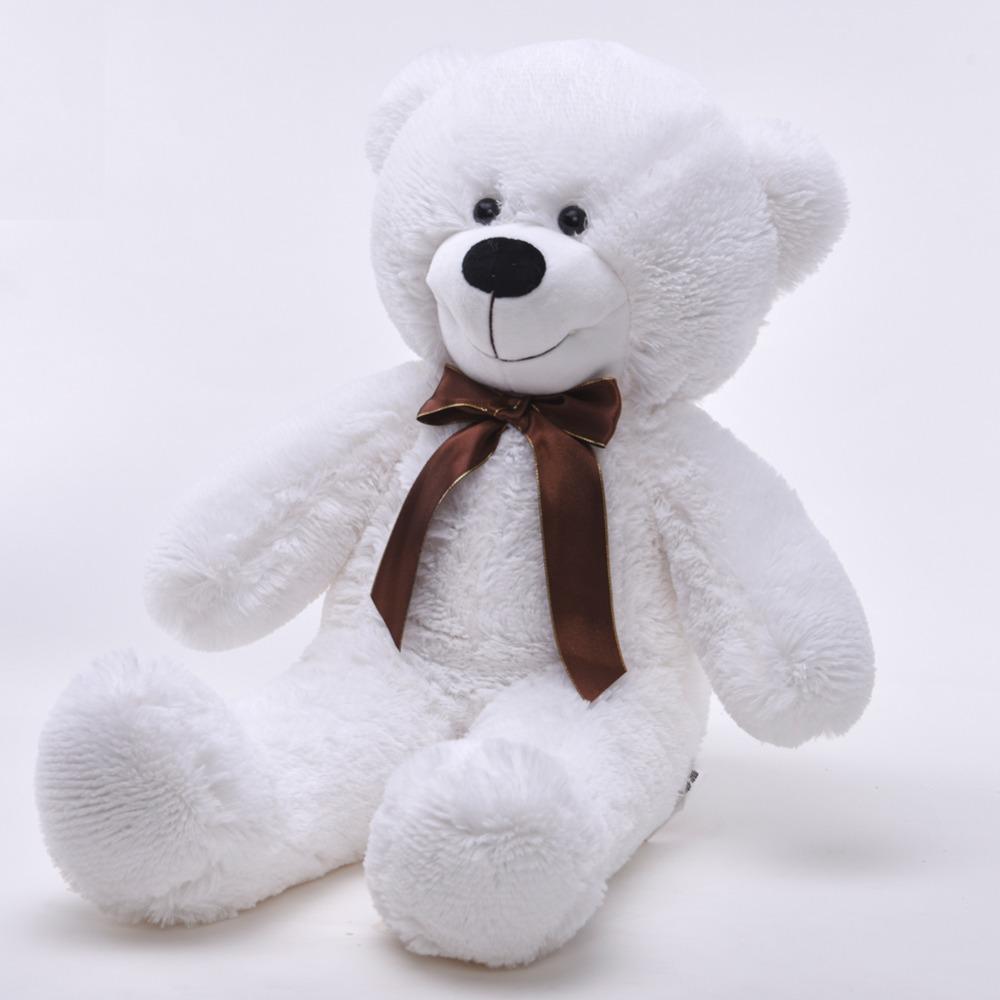2016 Niuniu Daddy White Plush Toys Stuffed Bear Toy Teddy Bear Gift for Lovers 65cm(China (Mainland))