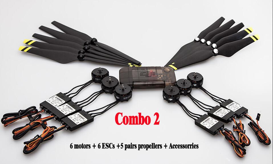 Original DJI E600 3508 Motor + 20A ESC + 1242 Propeller Power Combo Kits for DJI F450 F550 Hexacopter Drone High Efficiency<br><br>Aliexpress