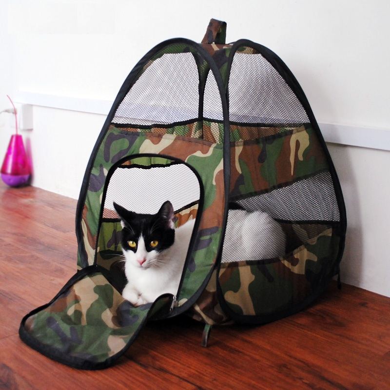 Fashion Camouflage Pet Cat Tent Cat House Dog Bed Puppy House Cat Toy Pet Bed Dog/Cat Bed Sleeping Bag Dog House Puppy Blanket(China (Mainland))