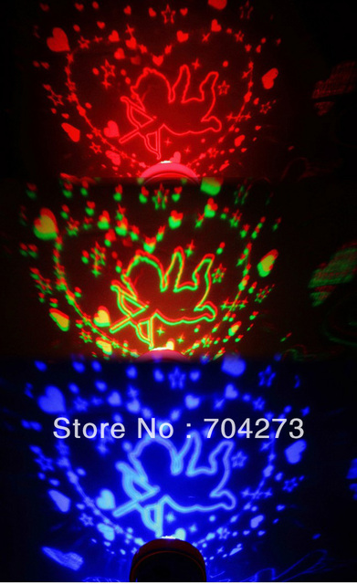 10pcs free shipping/Creative novelty LED projection electronic candle/projector Toy/Valentine's Day , a birthday gift