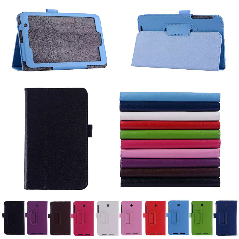 Colorful Stylish Folio PU Leather Stand Case Cover ASUS MeMO Pad 7 ME176 Inch Tablet - Shenzhen Camecho Technology Co., LTD store