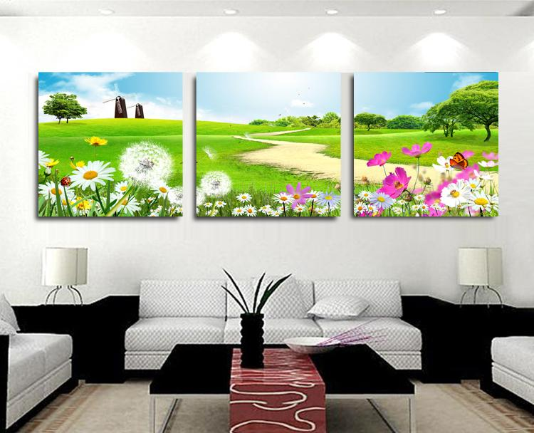 Nature Canvas Art Painting 3 Piece Canvas Wall Art Beautiful Wall Painting Paintings For Living