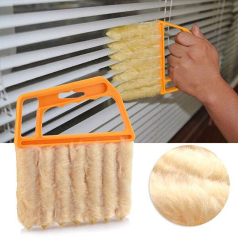 Microfibre Window Air Conditioner Venetian Blind Brush Duster Dirt Good Cleaner(China (Mainland))