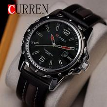 2015 Hot !CURREN 8104 Men Watches Top Brand Luxury Wristwatches Men Military Leather Sports Watch Auto Date Relogio Masculino