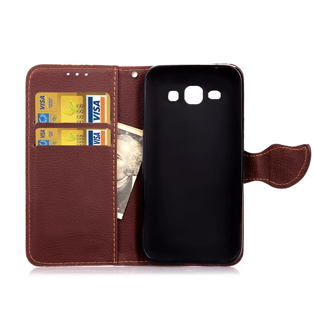Case For Samsung J1 Cover Soft Silicone & Flip Leather Case For Samsung Galaxy J1 J100 J100F Fundas Card Slot Phone Shell