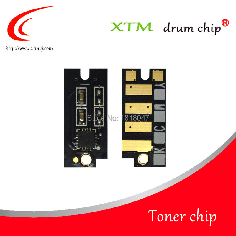 Compatible 2825 CT202517 CT202518 CT202519 CT202520 toner chip 2.5K for Dell H825cdw 625 2825 S2825d cartridge laser toner chip(China (Mainland))