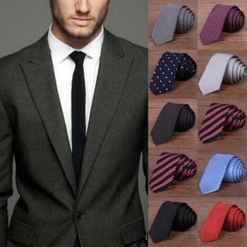 Hot New 2016 Fashion Male Brand Slim Designer Knitted Neck Ties Cravate Narrow Men Neckties Tie For Men Shirt Tie Skinny W1