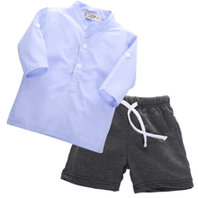 Brand New 100% Cotton 2016 Summer Baby Boys Clothing Toddler 2pcs Children Suits Summer Baby Kids Clothes Clothing Sets Boys(China (Mainland))