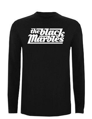 Camiseta The Black Marbles Manga Larga XXL XL L M S Size Blues Hard Rock TShirt(China (Mainland))