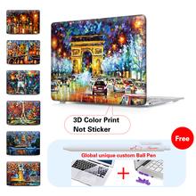 """Eiffel Tower Canvas Prints Matte Hard Cover Case For Apple Macbook Air 11″ 12"""" 13″ Pro 13″ 15″ Pro Retina 13″ 15″ Laptop Case"""