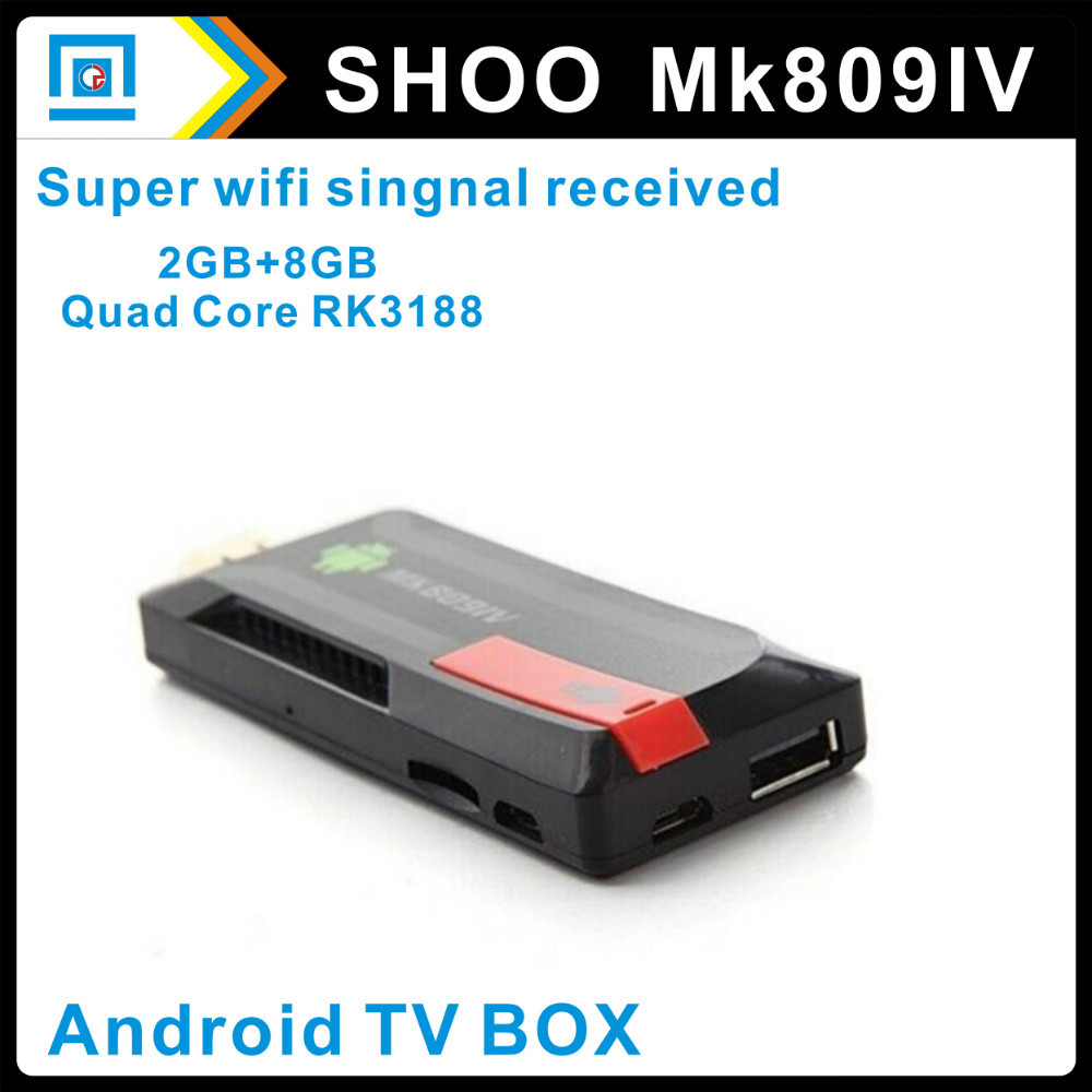 TV Stick mk809 iv External wifi antenna rk3188 quad core Cortex A9 Mini pc Androind 4.2.2 2GB/ 8GB Bluetooth Android - miaoqing chow's store