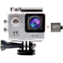 "Ultra Full HD 1080P 60FPS WiFi 2.0"" LCD Screen Sport Camera 170 Degree Wide 4K Waterproof Digital Video Camera + Extra Battery"