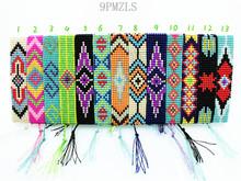 9PMZLS Hippy Handmade Beads Friendship Bracelet Beaded Charm Love Friendship Bracelet Eye Bracelets For Women Men(China (Mainland))