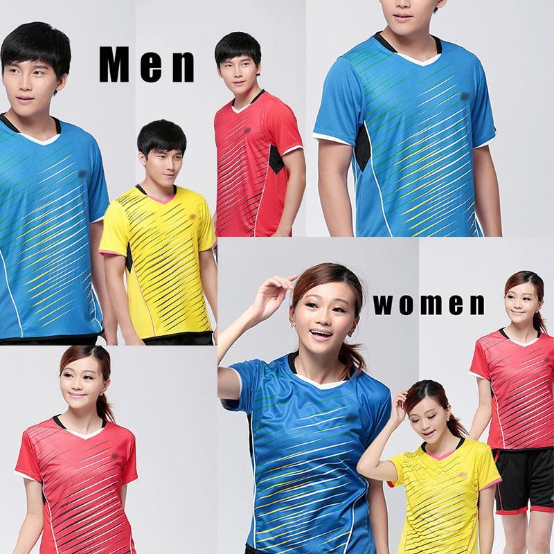 Japan Brand YY Badminton O-Neck Shirt , Fashion Design High Quality Quick Dry Tennis Sportswear Men or Women's(China (Mainland))