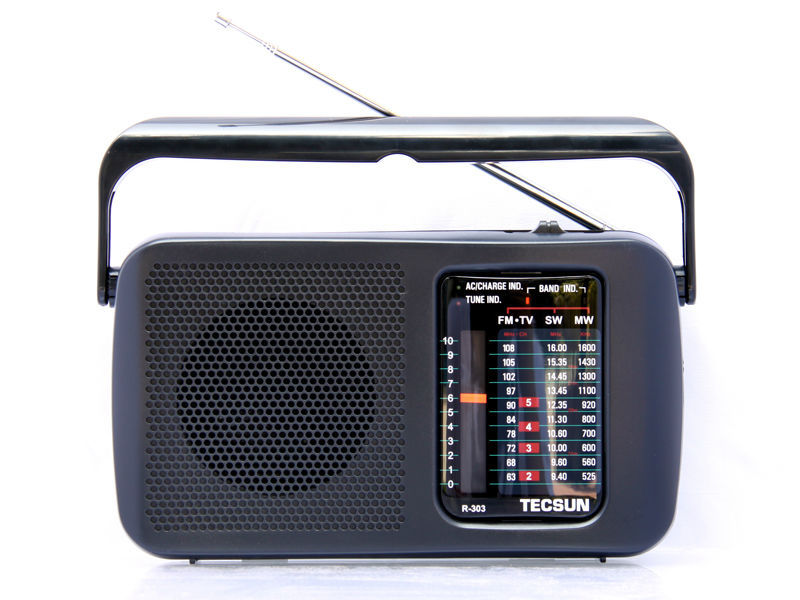 TECSUN R-303 FM/MW/SW/TV Radio