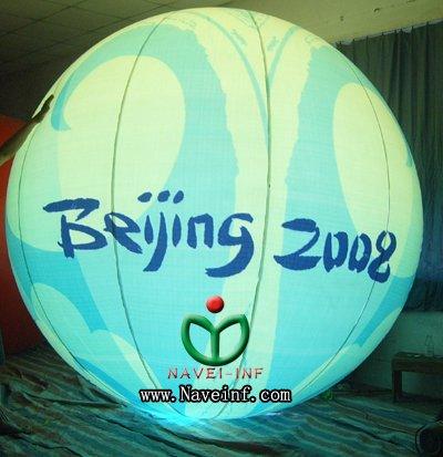 2M Advertising Inflatable helium lighting Balloon(China (Mainland))