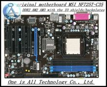 original Free shipping motherboard for MSI NF725T-C35 DDR2 AM2 AM3 Solid Capacitor  free shipping(China (Mainland))